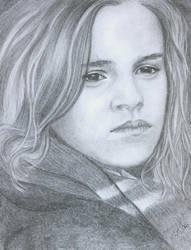 Emma Watson as Hermione by VivalaVida