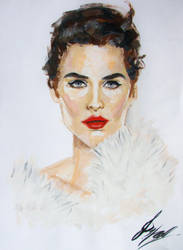 Cobie Smulders by kssu24