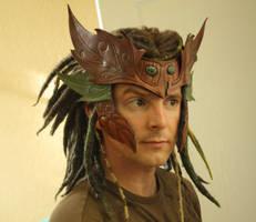 Wood Elf Headdress by Shendorion