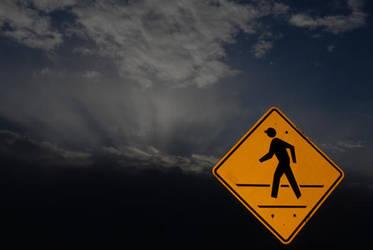 Sidewalk to Heaven by witec