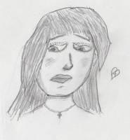 Sketching my Face by JamieAgathaRose