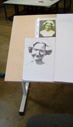 Art Class: Crosshatching Bust by JamieAgathaRose