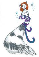 Micro Chibi Ligress doodle by darkligress