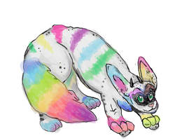 Spectrum Pherret doodle by darkligress