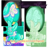 Squiby- Easter 2011- Ligress by darkligress