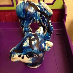 Pony Progress/Blue by darkligress