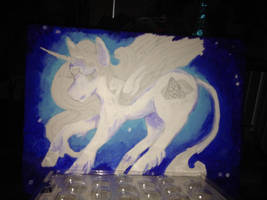 Work in Progress of my OC Ligress by darkligress