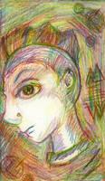 Punk ala Mulitcolored Pencil by darkligress