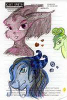 Random Doodles 1 by darkligress
