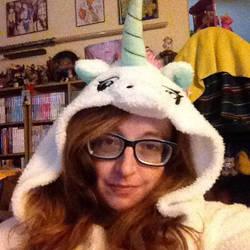 a unicorn by darkligress