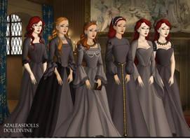 the 12.2 Discorded Tudor Style by COnfessorRocksha