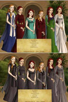 12.1 Game of Thrones Style Normal and Discorded by COnfessorRocksha