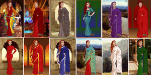The 12 Sari by COnfessorRocksha