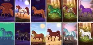 The 12 as horses by COnfessorRocksha