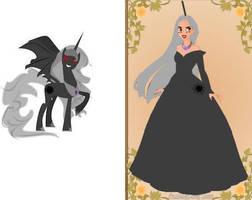 Queen Blackhole by COnfessorRocksha