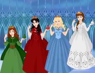 The Princesses Of The Jewel Kingdom by COnfessorRocksha