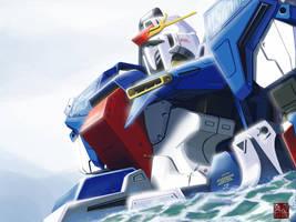 Hyper Zeta Gundam by Tanqexe