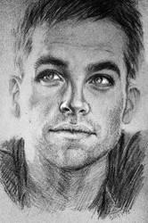 Chris Pine by LanaVdV