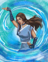 Katara by barberryqueen