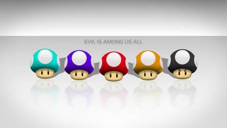 Evil among us by b1kkur1
