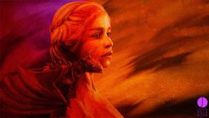 Daenerys and Drogon by PhotoshopIsMyKung-Fu