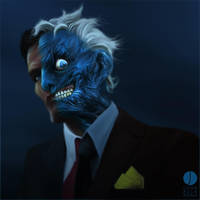 Harvey, Dented by PhotoshopIsMyKung-Fu