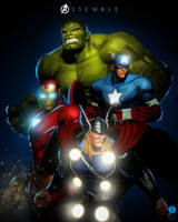 Assemble by PhotoshopIsMyKung-Fu