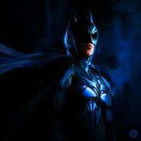 A Batman Sketch 2.0 by PhotoshopIsMyKung-Fu