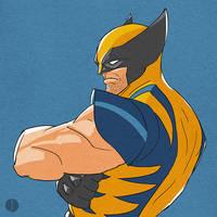 Wolverine Sketch by PhotoshopIsMyKung-Fu
