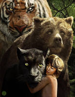 The Jungle Book by PhotoshopIsMyKung-Fu