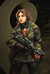Jyn Erso by PhotoshopIsMyKung-Fu
