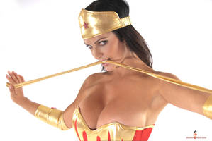 Denise Milani WonderWoman by k1ngxx