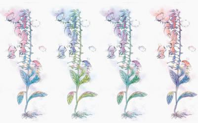 Prayer Little Flower by Navadel
