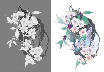 Sakura Nightmare by Navadel