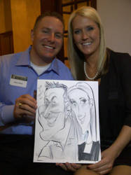 Event Caricature by macgarciacom