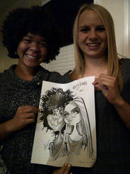 Sweet 16 Caricature by macgarciacom