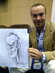 Expo Caricature by macgarciacom