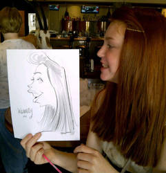 Side View Caricature by macgarciacom