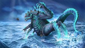 Kaiju by emkaKl