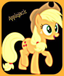 Applejack by ponyboy2012