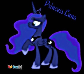 Princess Luna by ponyboy2012