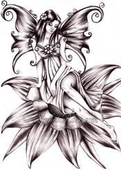 Spring Fairy. by LinnetRose