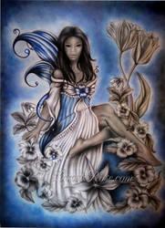 Blue Fairy by LinnetRose