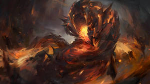 Lava Worm_Heroic Onslaught by SunnyJu
