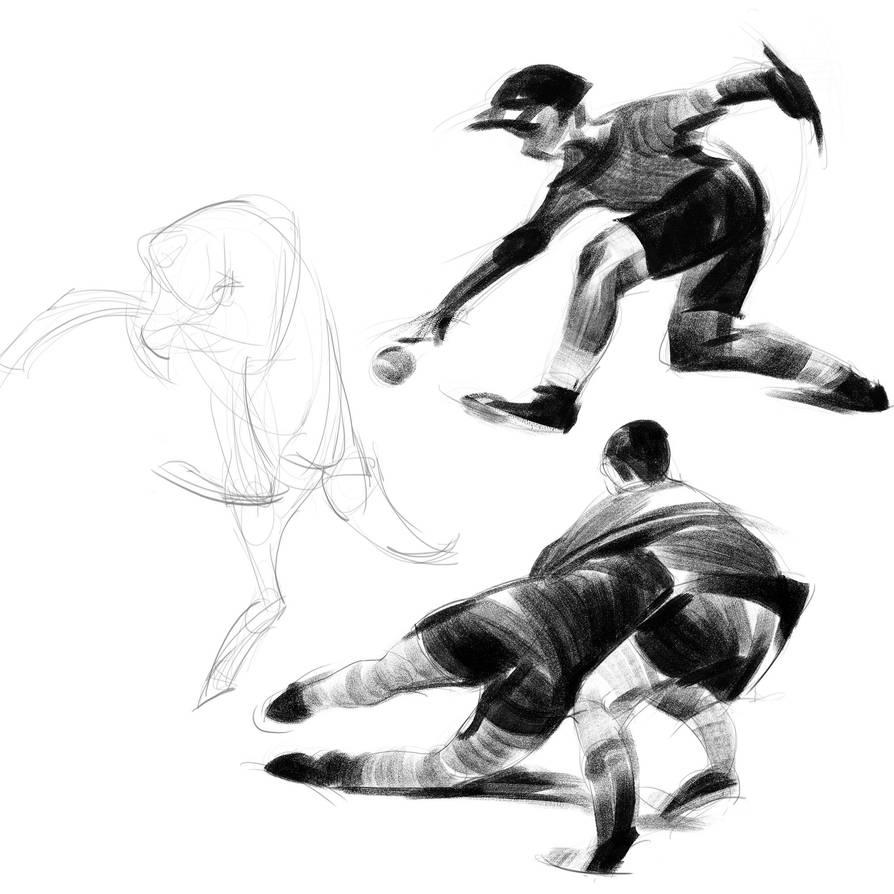 Dynamic sketches 01 by SunnyJu
