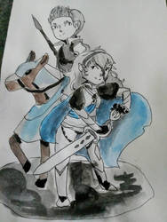 Corrin and Silas by Chihuahuat0by