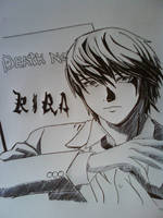 Light from Death Note Anime by Law3208