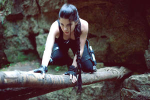 Lara Croft  climb by Anastasya01