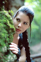 Lara Croft face by Anastasya01