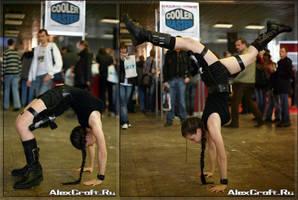Lara action by Anastasya01